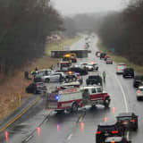 Tractor Trailer Overturns, Several Cars Crash On Route 80 In Warren County