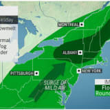 Strong Storm System Will Bring Soaking Rain Before Ending With Snow