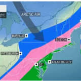 Weather Whiplash: Wintry Mix, Snow Will Arrive After Temps Surge To Near 60 During Rainstorm