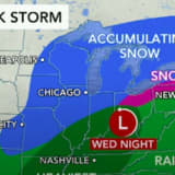 Midweek Storm Will Bring Mix Of Rain, Sleet, Snow To Region