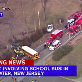 Serious Crash Involving School Bus, 2 Cars Shuts Bridgewater Road