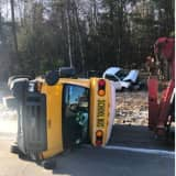 Route 17 Stretch Reopens After Crash Involving Overturned School Bus