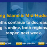 COVID-19: Long Island, Hudson Valley Could Reopen Next Week As Some Restrictions Eased