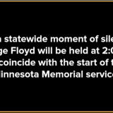 NY Holding Statewide Moment Of Silence For George Floyd