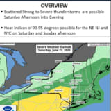 Severe Weather Alert: Rounds Of Strong Thunderstorms With Damaging Winds Headed To Area