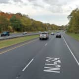Erratic, Unconscious Driver Crashes On Route 24 In Morris County