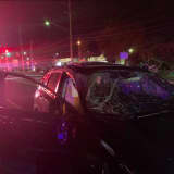 One Hospitalized In Rockland Crash After Driver Ignores Stop Light, Police Say