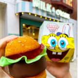 Jersey City Ice Cream Shop Brings SpongeBob's 'Krabby Patty' Sliders To Life