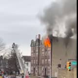 Fire Ravages Roselle Apartment Building