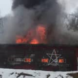 PHOTOS: Firefighter Injured In Morris County Barn Blaze