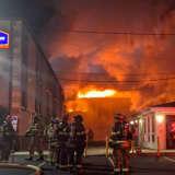 PHOTOS: 4-Alarm Fire Destroys Howard Johnson Inn, Sends Guests Scrambling In Camden County
