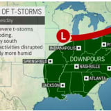 Rounds Of Storms, Showers Will Sweep Through Region