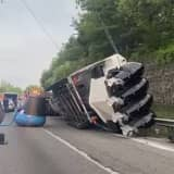 Pickup Truck Towing Boat Overturns, Shuts Down Route 78 In Warren County, State Police Say
