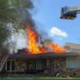 Fire Blows Through Roof Of Delaware County Home (VIDEO, PHOTOS)