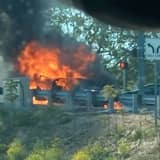 State Police: Honda Goes Up In Flames, Shuts Down Route 80 Exit Ramp In Morris County