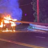 HEROES: Lakewood Patrolman, Passerby Pull Trapped Driver From Burning Car, Brick Police Say