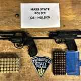 Troopers Nab Swerving Motorist With Guns, Crystal Meth, Cocaine In Massachusetts, Police Say