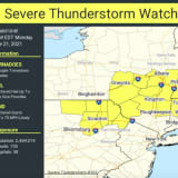 Severe Thunderstorm Watch In Effect For Parts Of Region With Strong Winds, Tornadoes Possible