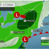 Scattered Showers, Thunderstorms Will Sweep Through Region