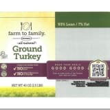Recall Issued For Ground Turkey Products Due To Possible Foreign Matter Contamination