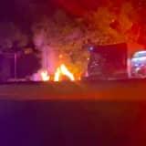 Fiery Rollover Crash Kills 1 In Irvington, Reports Say