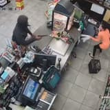 WATCH: Dramatic Footage Shows Armed Holdup Of Bloomfield Gas Station
