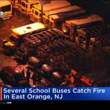 Multiple School Buses Destroyed By Fire In East Orange: Reports