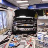 Truck Barrels Into Convenience Store