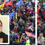 NJ Capitol Rioter Known For Hitler Mustache Ousted From Military