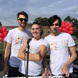 Songs For Seeds Performing At Scarsdale Pool
