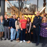 Glen Rock Barbers Donate Shaves To Police After No-Shave November