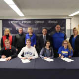 4 Student-Athletes At Danbury's Immaculate High Sign On For College Sports