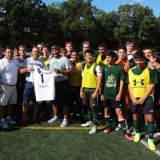 St. Joseph Soccer Team Donates $1,000 To Athlete With Leukemia