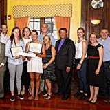 New Rochelle Students Win Sound Shore St. Patrick's Day Parade Scholarships