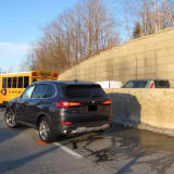 Pedestrian Struck By School Bus Involved In Four-Vehicle Crash