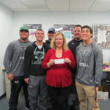 Yorktown High Football Team Donates To Support Connection