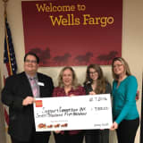 Wells Fargo Gives Yorktown's Support Connection $7,500 Grant