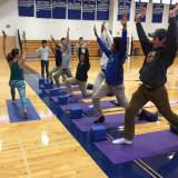 Children Find Balance With Yoga At Darien YMCA