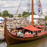 Viking Ship Sailing Down Hudson Stops In Croton-on-Hudson, Heads To NYC