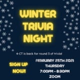 Have Fun In February For A Great Cause: Sign Up For Winter Trivia Night With 4-CT