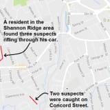 Danbury Police Track Down Two Teens In Car Break-In