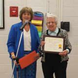 100-Year-Old Valhalla School Volunteer Receives Lifetime Achievement Award