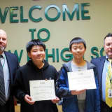 Yorktown HS Students Receive Certificate Of Distinction For Math Contest