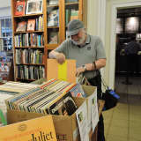 Vinyl Bargains To Be Had At Stamford Library's Book Shop