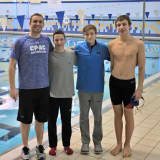 Stamford Team Sets State Record In Swimming Relay