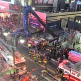Crane Collapses Near Manhattan's Penn Station, Operator Injured