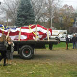 World Trade Center Beam Comes To Cresskill Wrapped In Glory