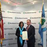 Rockland County Honors Anti-Tobacco Coordinator Denise Hogan