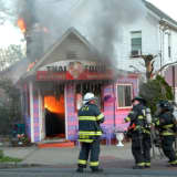 Fire Blows Through Roof Of Bergenfield Restaurant