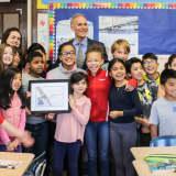 Washington Irving Intermediate School Wins Falcon Naming Contest